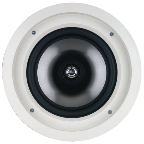 Leviton AEC80 Architectural Edition powered by JBL 8-Inch In-Ceiling Speaker, White by Leviton