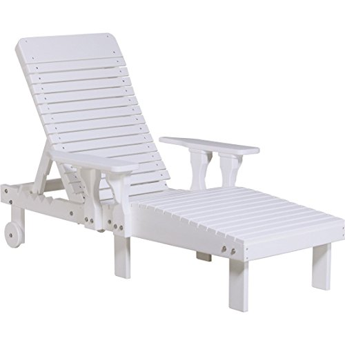 LuxCraft Recycled Plastic Lounge Chair For Sale