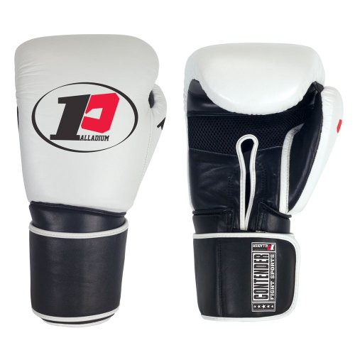 (Contender Fight Sports Palladium Tri-Ply Sparring Gloves (16-Ounce))
