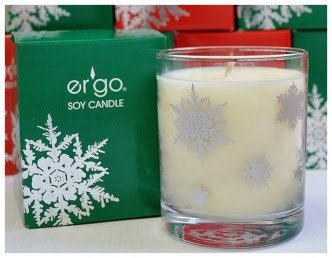 Ergo Soy Candle Peppermint Tea Tree Holiday Snowflake Collection 7oz Green Box Buy Online In Antigua And Barbuda At Antigua Desertcart Com Productid 43689174
