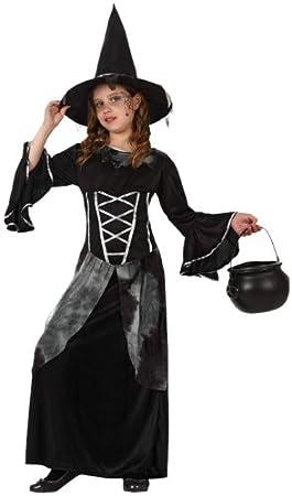 Atosa - Disfraz de bruja para niña, talla 10 - 12 años ...