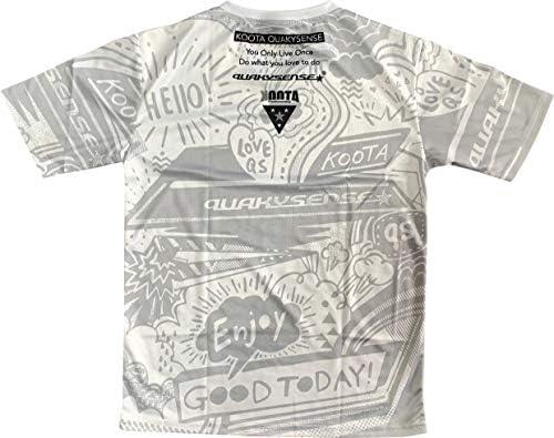 QUAKYSENSE(クエーキーセンス)2020年モデル 半袖 クールシャツ・ホワイト