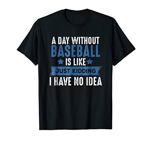 Mens Baseball Lover T-shirt, Cool Gifts For Player, Coach, Fan 2XL Black