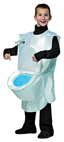Rasta Imposta 7239-710 7-10 Toilet Costume