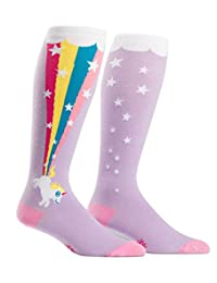 Sock It To Me Stretch-It Novelty Knee High Tube Socks for Thick Calves