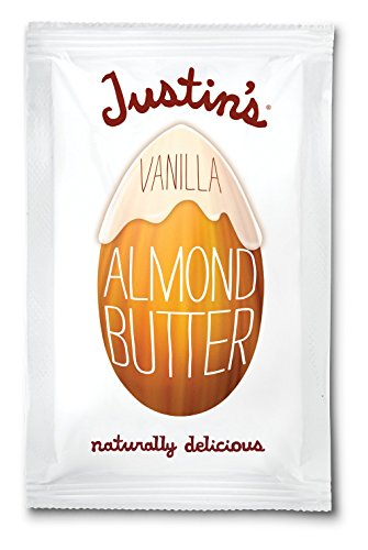 Justin's Almond Butter, Vanilla Squeeze Packs, 1.15 Ounce (Pack of 10)