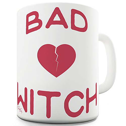 15 OZ Funny Novelty Mug Cup Bad Witch By Twisted - Witch Twisted