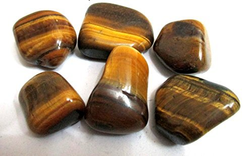 Tiger Eye Tumbled Stone 100 grams Approx. 0.75