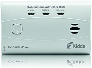 Kidde 13776/Co Alarme de x10.2/D/étecteur de monoxyde de Carbone Blanc Lot de 6