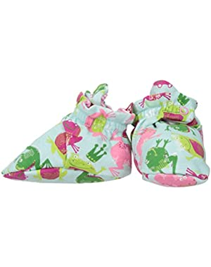 Baby Girls Cotton Bootie, Frog Princess, 18M (12-18 Months)