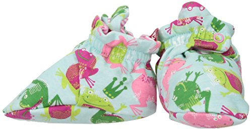 Zutano Baby Girls' Cotton Bootie, Frog Princess, 18M (12-18 Months)
