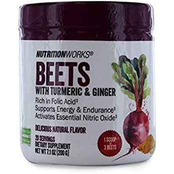 Amazon.com: Nutrition Works Beets with Turmeric & Ginger