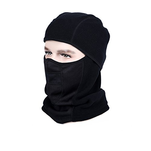 [Ksmxos Ski Face Mask Motorcycle Cycling Bike Hiking Skateboard Balaclava (black)] (Board Game Halloween Costumes Diy)