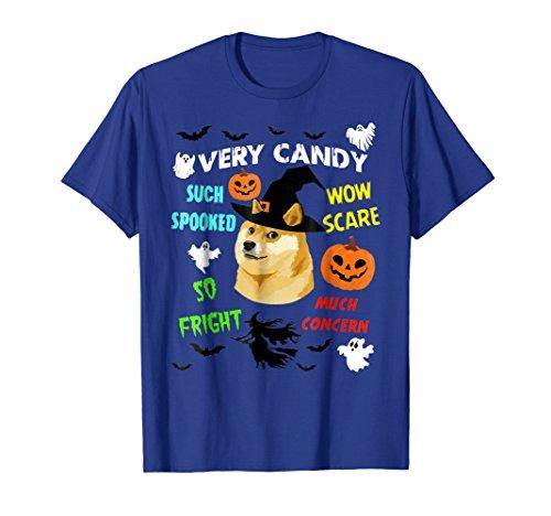 Funny Halloween T-shirt - DOGE MEME -