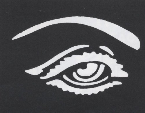 Costumes For All Occasions FP194 Stencil Eye Brass