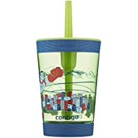 Contigo Spill Proof Tumbler, Superhero 414 ml Capacity, Multicolored