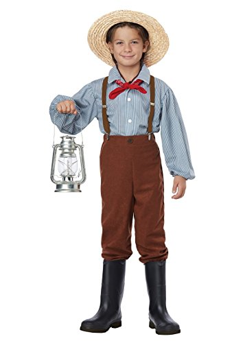 Big Boys' Western Pioneer Costume -
