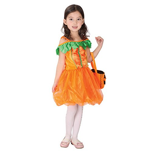 Happy Cherry Princess Girl Kids Holloween Masquerade Party Costume Size (Holloween Costumes Party)