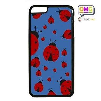Cover Per Iphone 6 Plus Coccinelle Sfondo Blu Portafortuna Amazon