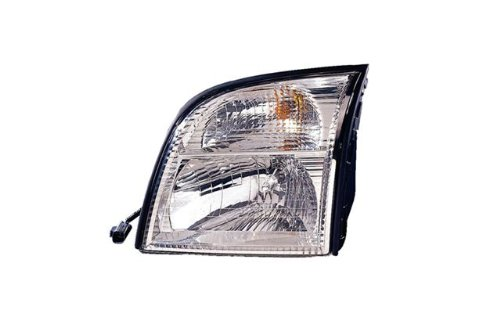 Mercury Mountaineer Driver Side Replacement (Mercury Mountaineer Headlight Lh Driver)