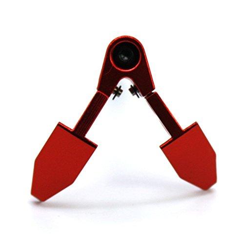 RC car 1/10 Metal Foldable Winch Anchor Earth Anchor Decor Tool for RC Car Tamiya CC01 Axial SCX10 RC4WD D90 D110 RC Rock Crawler Accessories