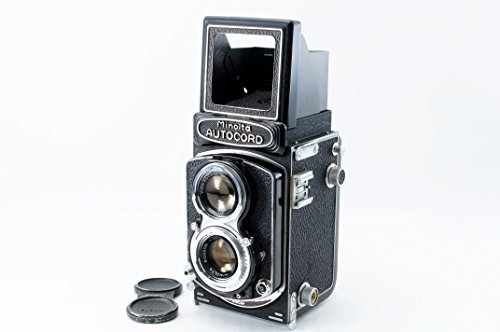 Minolta Autocord TLR 120 Medium Format Film Camera w/Rokkor 75mm f/3.5