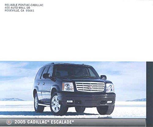 2005 Cadillac Escalade Mailer Brochure 2005 Escalade Collectible