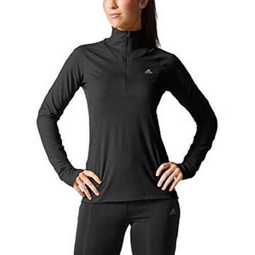 Adidas Ladies ½ Zip Pullover Black Large