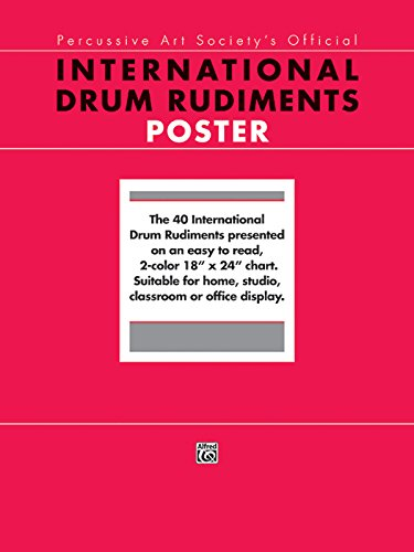 - International Drum Rudiments: Poster