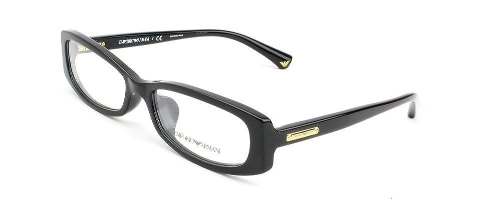 07f125b29e62 Amazon.com  Emporio Armani EA3007F Eyeglasses-5017 Black-53mm  Shoes