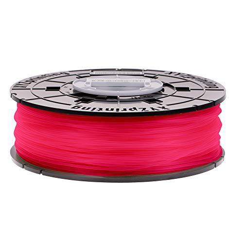 XYZprinting RFPLCXUS02J da Vinci Jr. & Mini Series Filament, PLA, 600 g, Clear Red