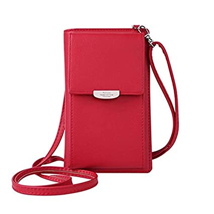 Fashion Women Wallet Mini Leather Cross-body Messenger Phone Purse Shoulder Bag