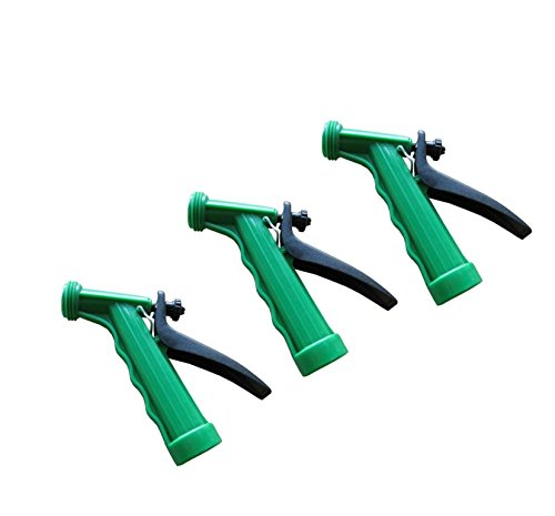 Garden Hose Nozzle - Salt Water and Marine Hand Spray Nozzle for Garden, Auto, Boats and Pets – 3 Pack