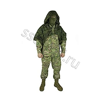 Image of Camouflage Accessories Ghillie Suit Ghost by SPOSN/SSO | Russian Sniper Coats/Viper Hoods (EMR Digital Flora)
