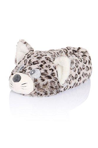 Loungeable Boutique, Mujer Chica Cómodo Novedad Animal Pantuflas Cutie Cat