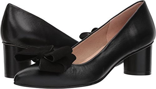 French Sole Women's Bard Black Nappa Suede 9 M - Suede Black Nappa Footwear