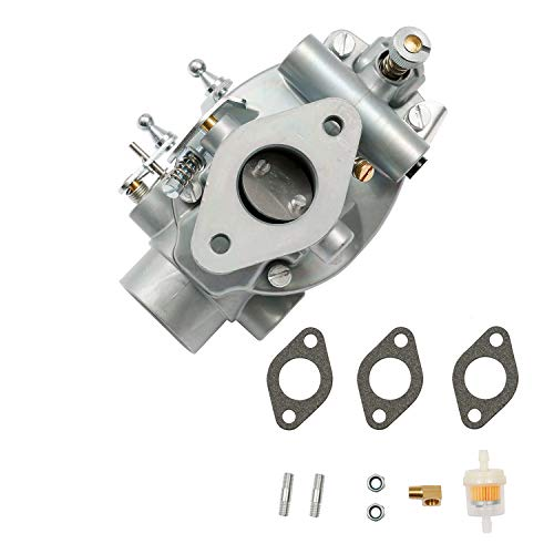Carburetor Tractor Carb with Gasket and Bolts | for 1993-1952 Ford 2N 8N 9N Tractor | Replace# 8N9510C, 9N9510A, B3NN9510A, TSX241A, TSX33