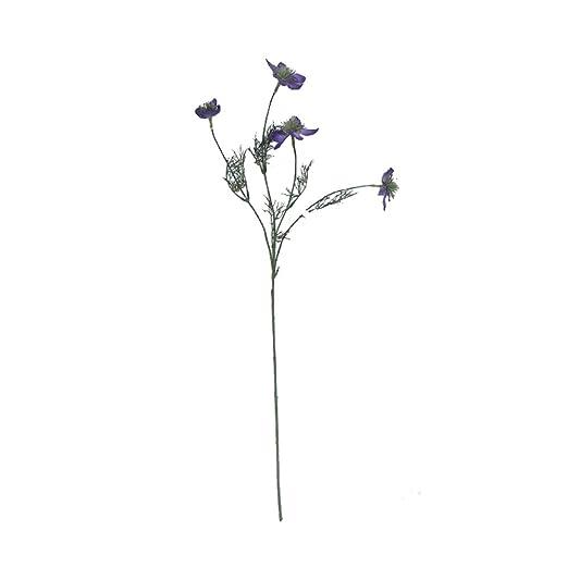 Li Hua Cat - Arreglo de Flores Artificiales para Mesa de ...