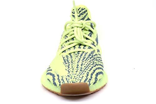 350 Adidas Tessuto V2 Giallo Sneakers Uomo Yellow Yeezy Frozen Zebra r71q07xESw