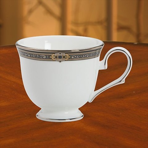 Lenox Vintage Jewel Platinum Banded Bone China Cup