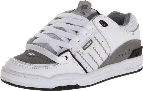 Die Fusion-Skate-Schuhe der Kugel-Männer Weiß / Grau / Schwarz