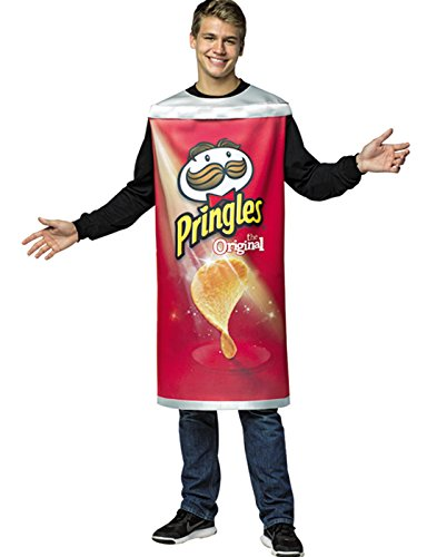 Rasta Imposta Officially Licensed Pringles Can Costume Tunic Red]()