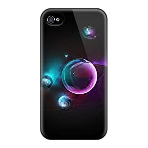 New 3d Bubbles Hd Tpu Skin Cases Compatible With Iphone 6 Plus