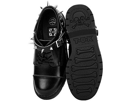 k Men's Women's Leather Argyl Shoes Black Harness Derby u T 1ptnqw5W