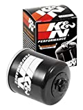 K&N Motorcycle Oil Filter: High Performance Black Oil Filter with 17mm nut designed to be used with synthetic or conventional oils fits Honda, Kawasaki, Polaris, Yamaha Motorcycles KN-303