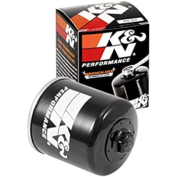 Amazon.com: K&N OIL FILTER KN-303 KAWASAKI ZX10R NINJA 2006 ...