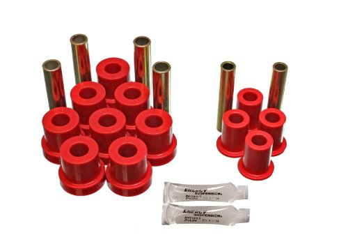 Energy Suspension 3.2130R GM 4WD FRT SPRING & SHACKLE BUSHING