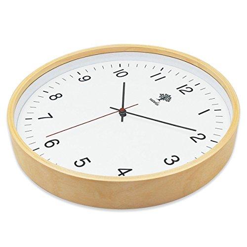 12 Inch Luminous Silent Wall Clocks For Bedroom Living ... |Silent Wall Clock