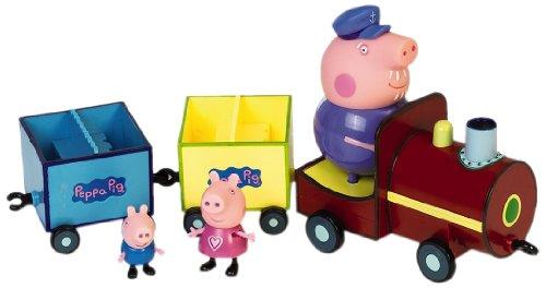 Peppa - 4892 - Poupée - Train avec 3 personnages