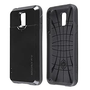 SHOUJIKE Samsung S5 I9600 compatible Special Design Plastic/Silicone Back Cover , Golden